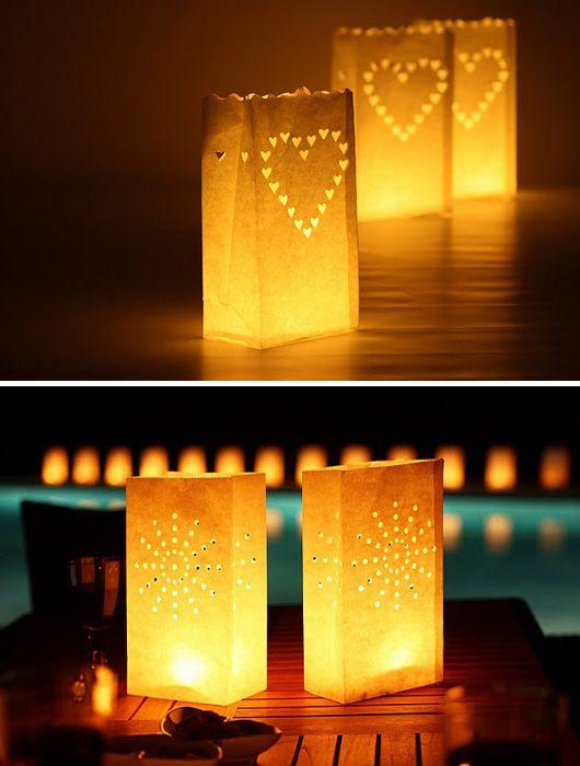 ligth bags una idea sencilla para una iluminacin decorativa
