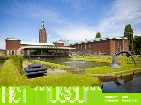 One of the oldest art museums of the Netherlands: Museum Boijmans Van Beuningen