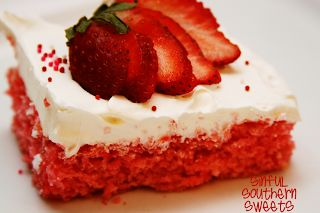 Sinful Southern Sweets: Slimmed Down Sweets-Diet Coke or diet 7up Cake