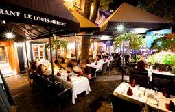 Le Louis-Hébert 668, Grande-Allée Est Québec (Québec)  G1R 2K5 Téléphone :    418 525-7812 restaurant@louishebert.com