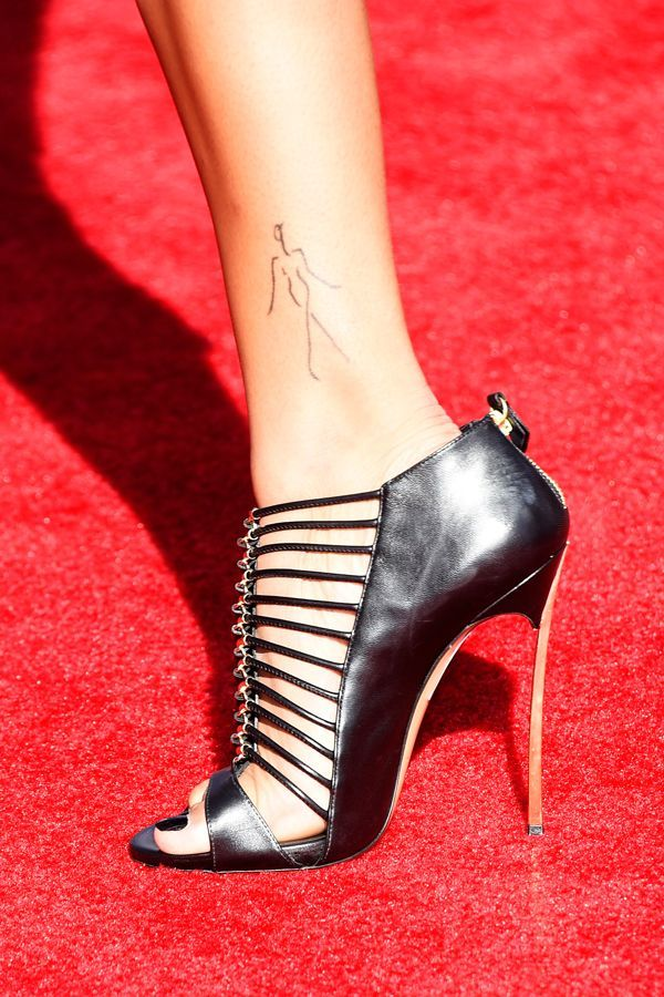Supermodels And Their Ridiculously Tiny Tattoos
