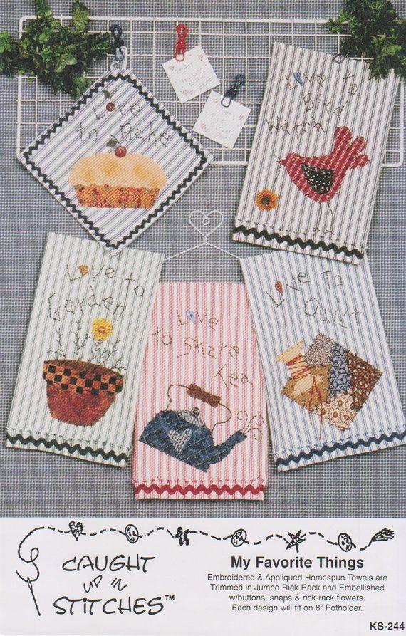Mis cosas favoritas-apliques patrón Ave pastel por CountryNMore2