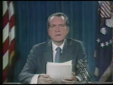 The Challenge of Peace - President Nixon's Address to the Nation on A New Economic Policy - YouTube