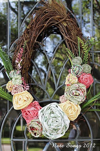 Front Door Spring Wreaths