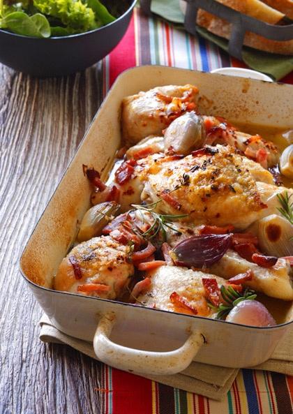Chicken Thigh Recipes Good Food Smh