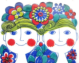 Figgjo Fajance. Check out my blog ramblings and arty chat here www.fishinkblog.w... and my stationery here www.fishink.co.uk , illustration here www.fishink.etsy.com and here http://www.fishink.carbonmade.com/projects/4182518#1 Happy Pinning ! :)