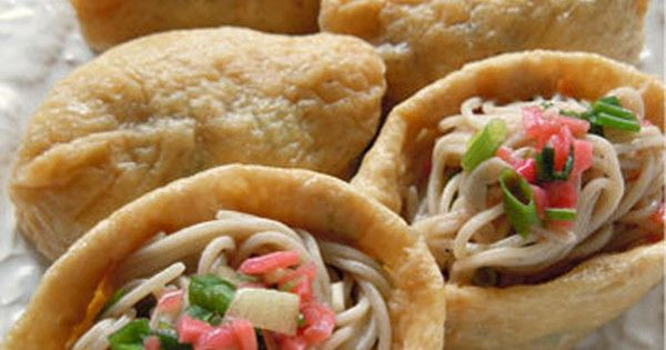 人気の「オープンいなり」は、ご飯のかわりにお蕎麦を詰めても美味だった!さっそく試してみませんか?