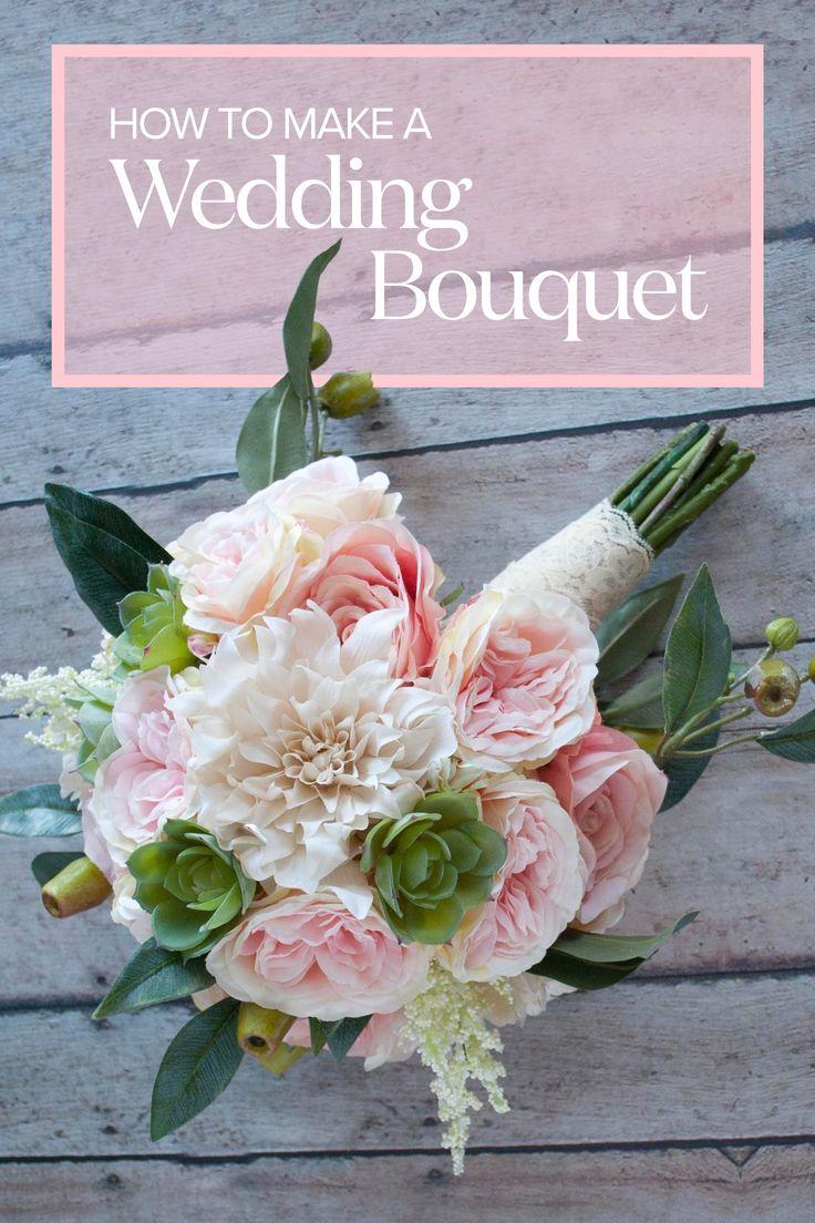 Cómo hacer un ramo de novia Cree un hermoso ramo de novia con …