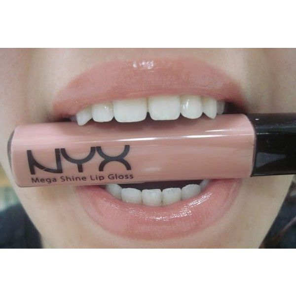 NYX Mega Shine Lip Gloss ❤ liked on Polyvore featuring beauty products, makeup, lip makeup, lip gloss, lip shine, nyx, nyx lipgloss, lip gloss makeup and shiny lip gloss