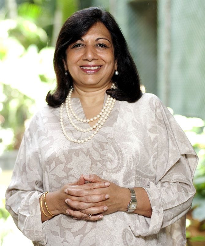 Kiran Mazumdar Shaw Chairperson and MD, Biocon A self-made billionaire, Kiran Mazumdar Shaw has transformed the company into a fully integrated biopharmaceutical enterprise, which manufactures affordable drugs.  Her pioneering efforts in biotechnology have drawn global recognition both for Indian Industry and Biocon.