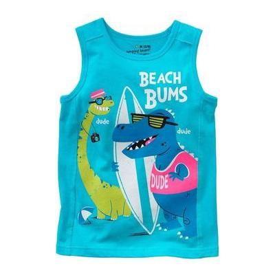 Jumping beans cotton kids baby infants boy short sleeve t-shirt beach bums tee dude