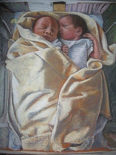 Womb Mates - Paintings