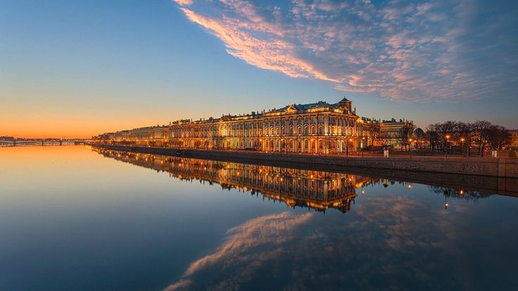 пейзаж-в-Санкт-Петербурге