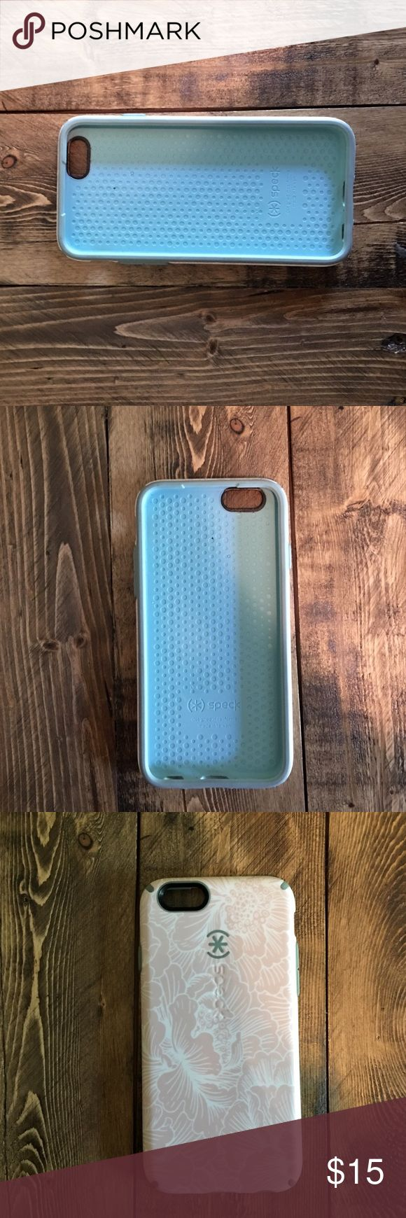 Speck iPhone 6 case Teal and pink iPhone 6 case - great condition Accessories Phone Cases