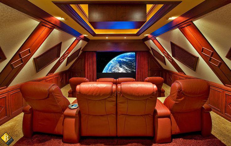 56 best images about salas de cine en casa on pinterest - Sala de cine en casa ...