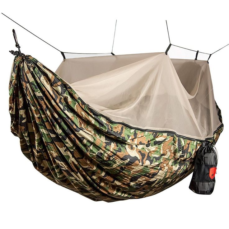 If you've been hammock camping you know the feeling when you spend the night curled up in the fetal position, hiding from bugs and mosquitos. Perhaps you tried adding your own mosquito net your hammoc
