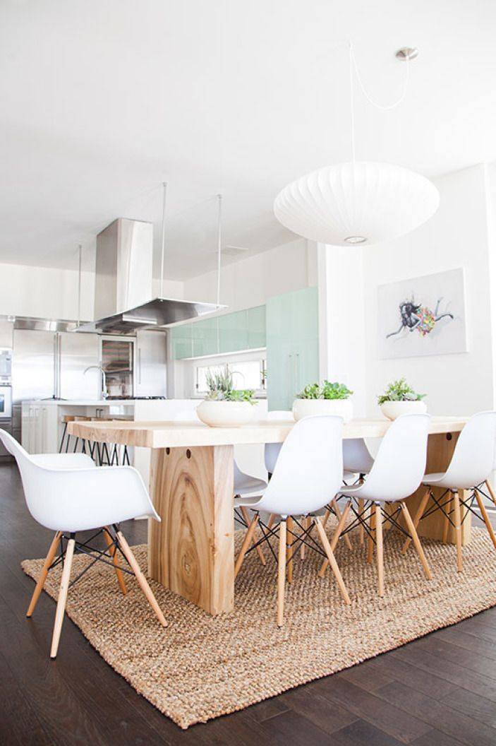 The Beach House Part 2 Scandinavian Dining TableModern InteriorModern