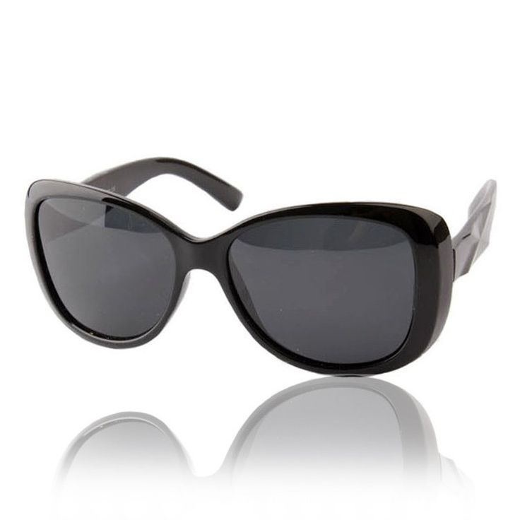 Free shipping 2014 new vintage polarized sunglasses women brand designer, oversize sun glasses for lady US $8.39