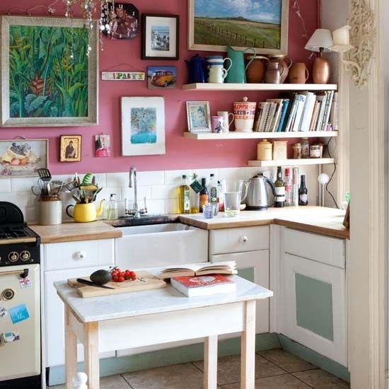 Kitchen | Eclectic Victorian villa house tour | House tour | Modern decorating ideas | decorating | PHOTO GALLERY | livingetc | housetohome