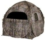 Ameristep Doghouse Spring Steel Blind. $59. Whether you're a photographer, bow or rifle hunter, the Ameristep Doghouse is America's favorite blind: affordable, lightweight, and easily packed.Comes in the new Realtree Xtra green pattern and features the new Dura shell plus heavy duty non reflective fabric used exclusively on Ameristep blinds. Ideal for firearm and bow hunting as well as spring turkey. Click for video and review www.huntingblindshq.com/ameristep-doghouse-spring-steel-blind/