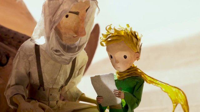 The LITTLE Prince (2015) Titles: The LITTLE Prince Characters: The LITTLE Prince, The Aviator
