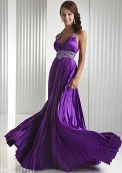 Purple prom dress! It reminds me of the Greeks!! I want it so much!!