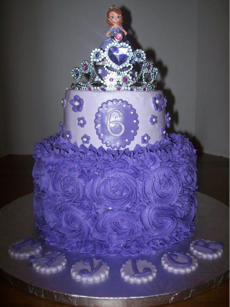 - Sofia the first cake