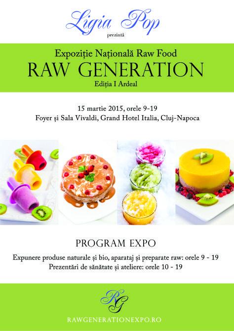 Vă recomandăm Raw Generation Expo ediția I Ardeal