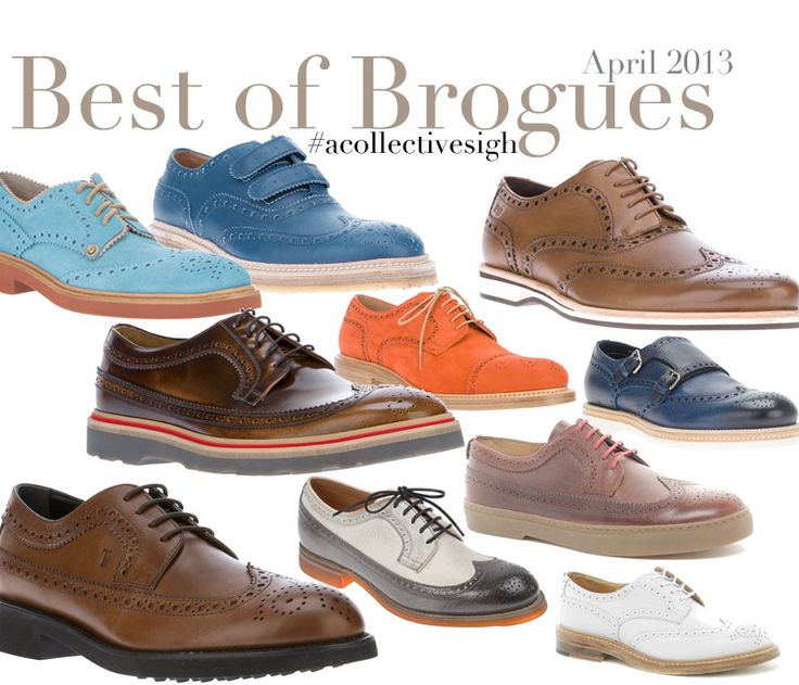 I am loving brogues for fall.