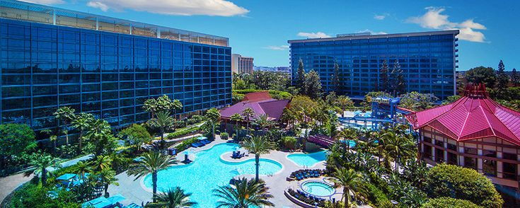 Disneyland's past and present come to life at the Disneyland Hotel!