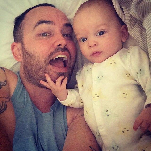 #loveislove | Jonathan Saccone-Joly and son Eduardo