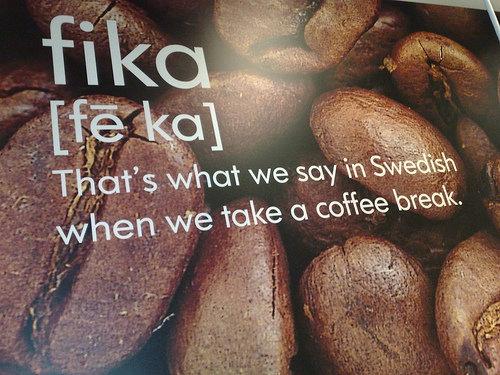 Coffee and cake brake basically (^ω^)