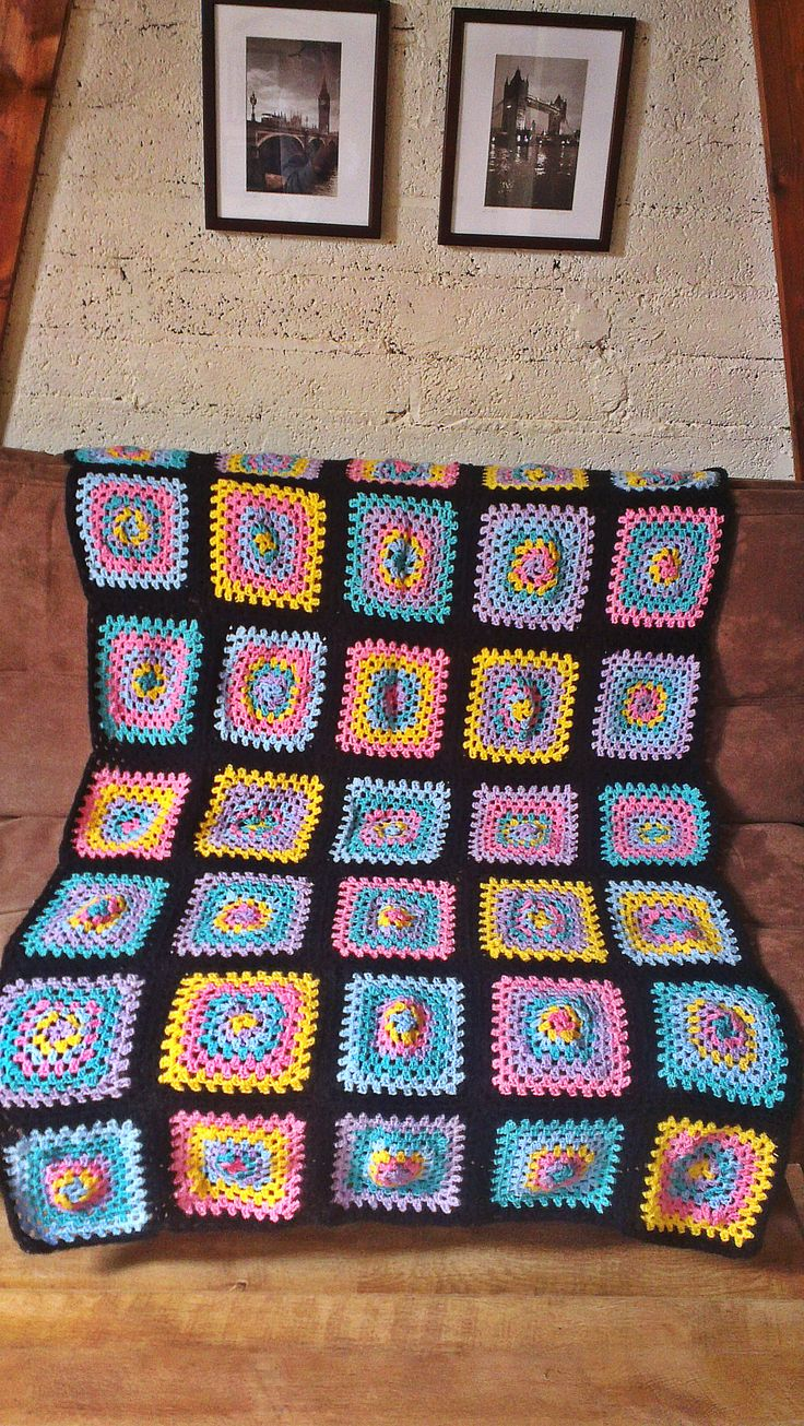 Crochet Quilts For Sale : beautiful granny sqaure crochet quilt for sale in my etsy shop for ...