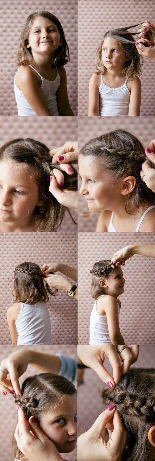 Princess crown braid how-to