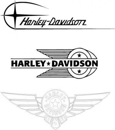 Harley-Davidson old logos
