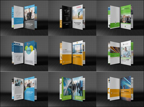 Bifold Business Brochure Bundle