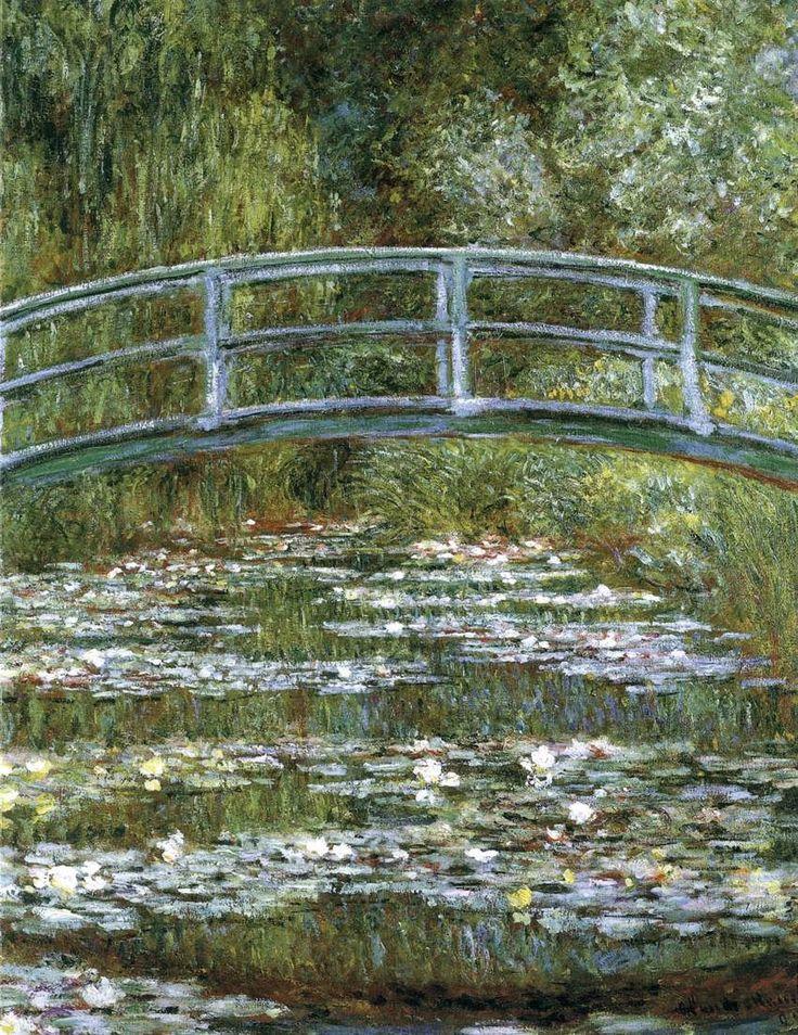 Γέφυρα πάνω από λιμνούλα με νούφαρα (1899)