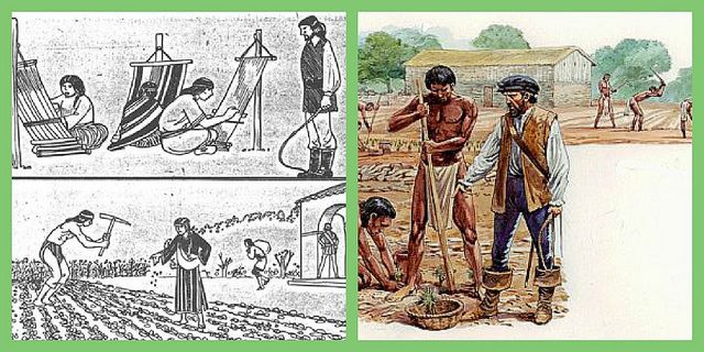 the encomienda system a modern comparison The encomienda system was a trusteeship system used during the spanish colonization of the americas, whereby conquistadors were granted the towns of the indigenous people they conquered.