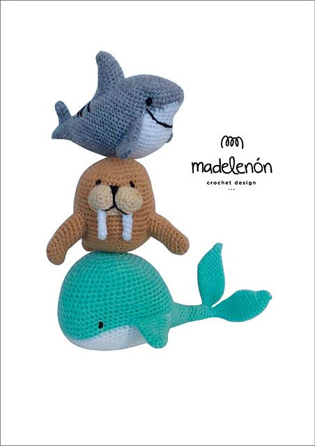 Jurassic World Amigurumi : My Sea 2 pattern by Madelenon Crochet Design Libraries ...