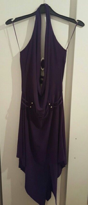 womens purple dress size m/l  in Clothes, Shoes & Accessories, Women's Clothing, Dresses | eBay!
