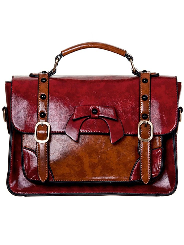 BANNED Sweet Bow, rot ✭ Retro Tasche ✭ Flaming Star Online-Shop