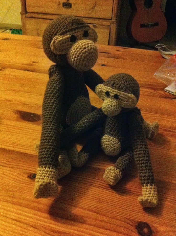 Kreaposen: Den lille abe blev til en lidt større abe