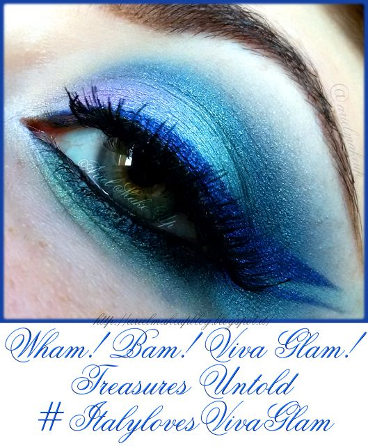 Ariel Make Up ~ Make Up & Beauty with a Princess Touch: ♕ Wham! Bam! Viva Glam ~ Treasures Untold ♕ {MAC Cosmetics Viva Glam Miley Cyrus 1 look} #ItalylovesVivaGlam
