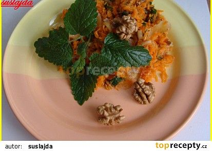 Osvěžující mrkvový salát recept - TopRecepty.cz