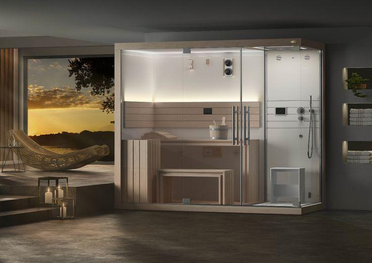 Cabine Doccia Sauna Combinate : Best saunas hammams douches emotionnelles images