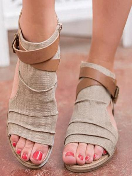 660ccff86 Gladiator Flat Sandals – WhatsMode