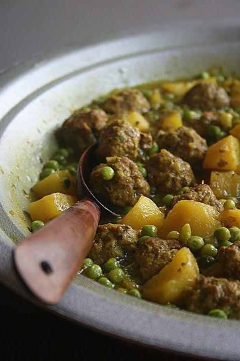 Tajine de kefta aux petits pois (et 20 autres recettes authentiques de tajines) - Passion culinaire by Minouchka