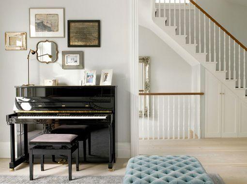 Habitaciones con piano en decoraciones clásicas