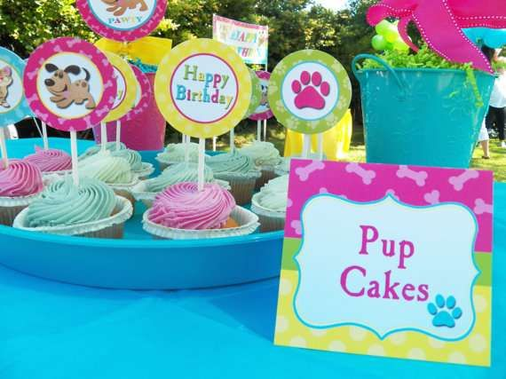 Dogs/ Cats/ Pets Birthday Party Ideas | Photo 22 of 30 | Catch My Party