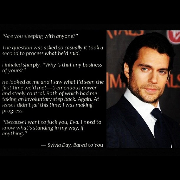 #Crossfire, Bared to you, Gideon Cross...Henry Cavill